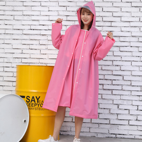 雨衣男女成人加厚徒步学生雨衣户外单人电动电瓶车自行车时尚雨披