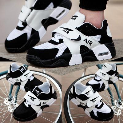 夏季情侣鞋GD权志龙同款韩版潮流男鞋运动休闲气垫鞋内增高板鞋春
