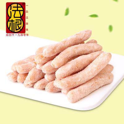 法根食品杭州特产油京果枇杷梗江米条传统手工糕点点心糯米条零食