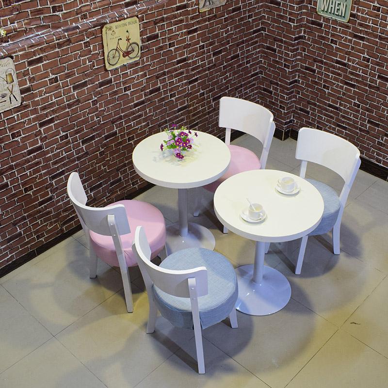 蛋糕店桌椅组合