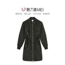 KENZO/高田贤三 女士黑色长款外套图片