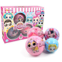 Yiqi Surprise Doll Guess and Decrease Le Dolls Demolition Eggs Children Guessing Toys Princess Girl Gift Box