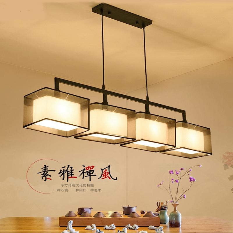 中式酒店吧台灯