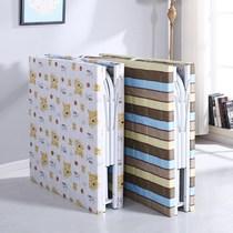 折叠床单人板式床收缩床木板床午休床大人家用单人床隐形床简易床