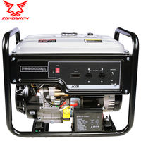 Zongshen generator Household small 220V 3000W silent gasoline 5/7 kW single-phase three-phase power