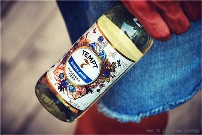 洪雨精酿 诱惑7号啤酒 接骨木味露酒 TEMPT Cider No.7 330ml