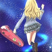 新款小提琴盒西瓜红宫园薰动漫同款抗压防水盒子双肩背送原版贴纸