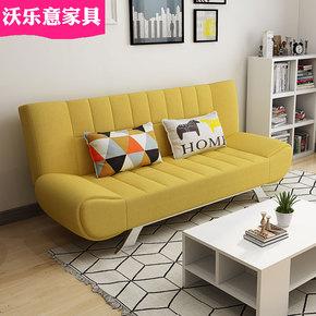 小户型客厅可折叠床沙发床双人多功能1.8米坐卧两用三人清仓便宜