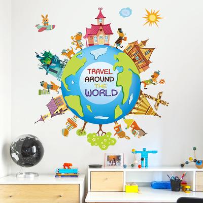 儿童教室墙纸贴画哪里便宜