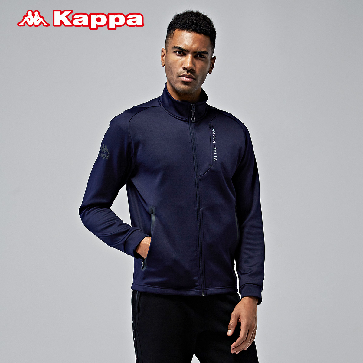Kappa卡帕男款运动卫衣休闲 男外套上衣运动服 |K0752WK49