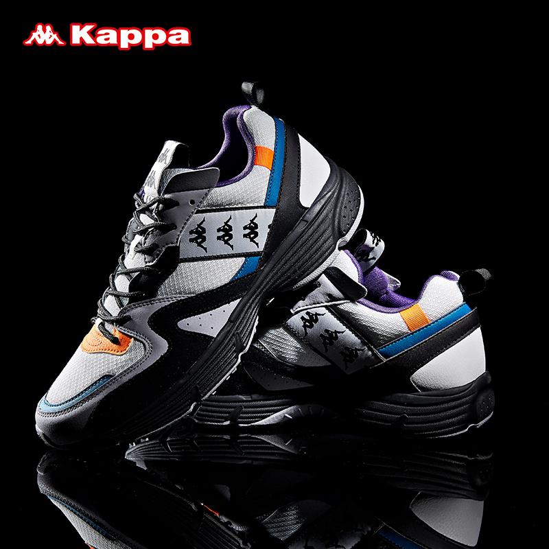 Kappa卡帕情侶男女串標運動鞋跑鞋休閑旅游鞋 2019新款|K0955MQ37