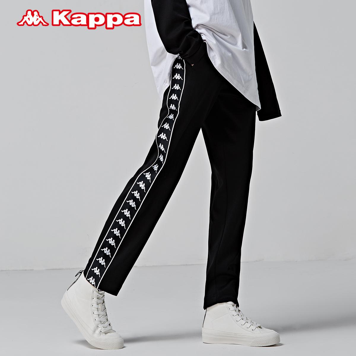 KAPPA卡帕 女款banda串标运动裤长裤休闲卫裤2018新品|K0862AK58