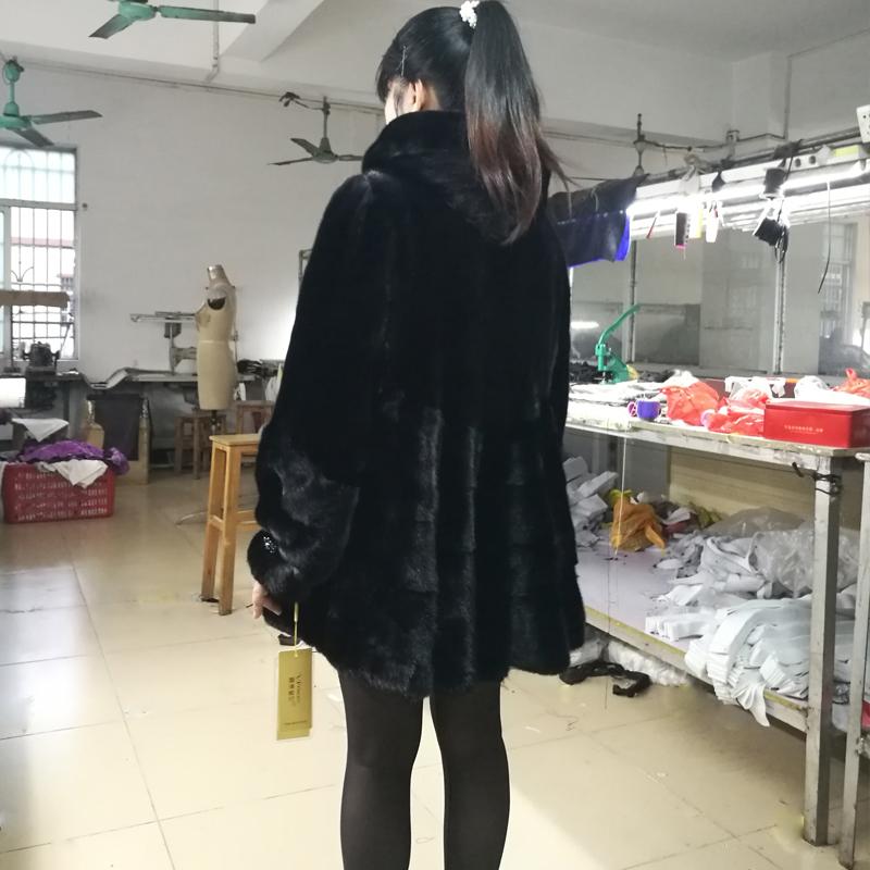 海寧皮草泡泡袖
