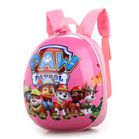 Want Want Team Hard Shell Kindergarten Children's Baby 234 Years Old Boys and Girls Wang Wang Team Eggshell Backpack