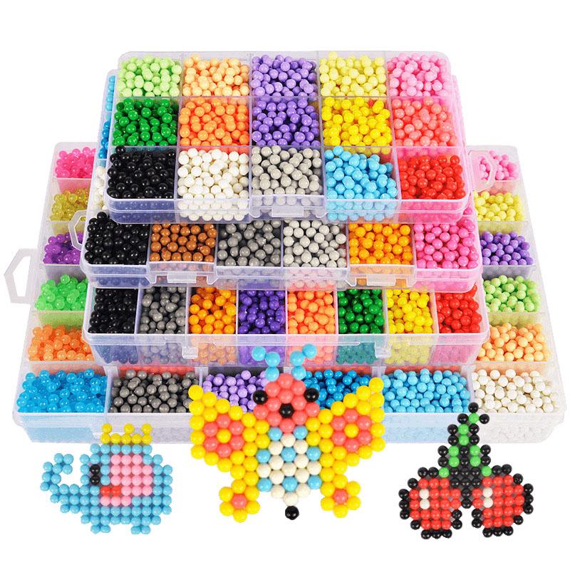 水雾魔珠儿童手工美工区材料神奇魔法水珠幼儿园定制拼豆自制礼物