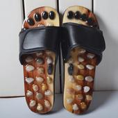 男木制拖鞋 包邮 夏季情侣木屐日式木板鞋 女款 平跟木板凉拖按摩鞋