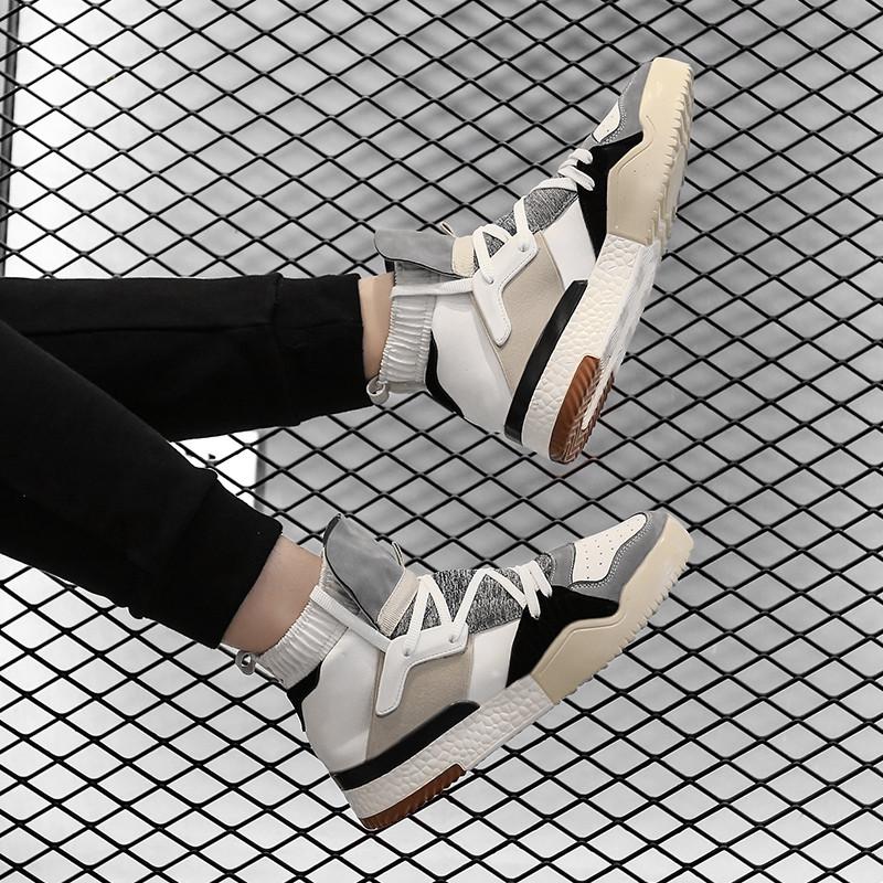 嘻哈滑板鞋 冬季高帮男鞋 子韩版 运动休闲鞋 潮流男士 权志龙侃爷同款
