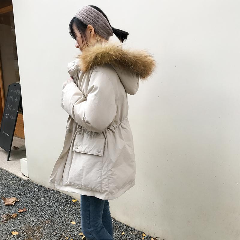美少女棉服