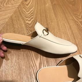 【sheii苏茵茵】每年都买!新款马衔扣包头穆勒鞋真皮拖鞋女凉拖