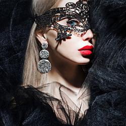 情趣眼罩夫妻调情面具性感成人极度诱惑女王装蕾丝舞会面纱面具
