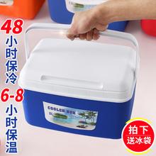 保温箱母乳冷藏箱商用车载冰桶便携保温塑料手提保鲜箱户外冷藏箱图片