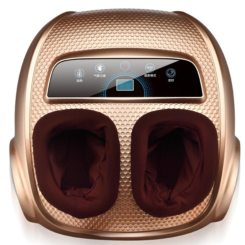 全自动5D按摩器脚部按摩仿真人按摩足疗机自动加热捂脚按摩仪气囊