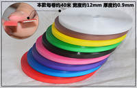 Plastic belt hand-woven packaging with colored woven strips home-made vegetable basket storage basket plastic strip