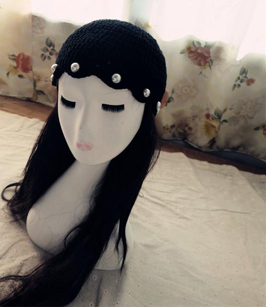 韓國棒針帽