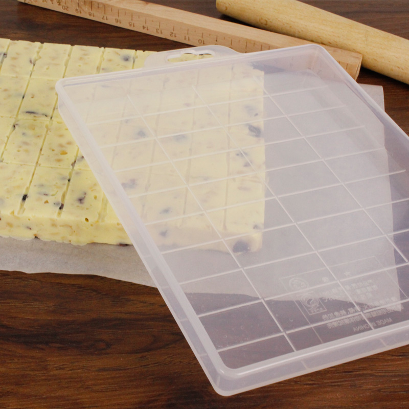 牛轧糖模具雪花酥整形切割套装不粘烘培家用手工自制沙琪玛模具型