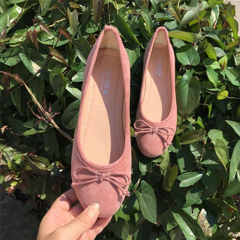 甜美舒适平底单鞋