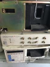 二手在线脱气机液相色谱仪 二手岛津高效液相DGU 14A图片