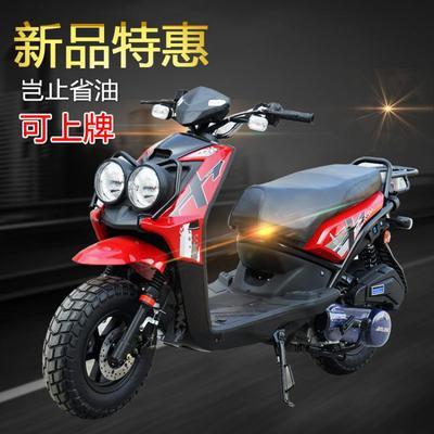 可上牌踏板车摩托车代步150鬼火助力街车大跑车