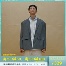JACKET ins复古OVERSIZE西服男女 SUIT 80S CHIC DADDY MOKACME