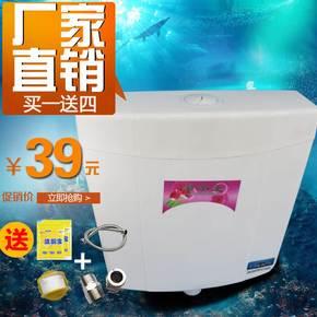 冲水箱家用卫生间壁挂式厕所冲便器蹲便器蹲式大便器蹲坑抽水马桶