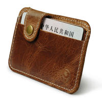 Small round icon simple card package double card bank card credit card package access card bus card package coin purse