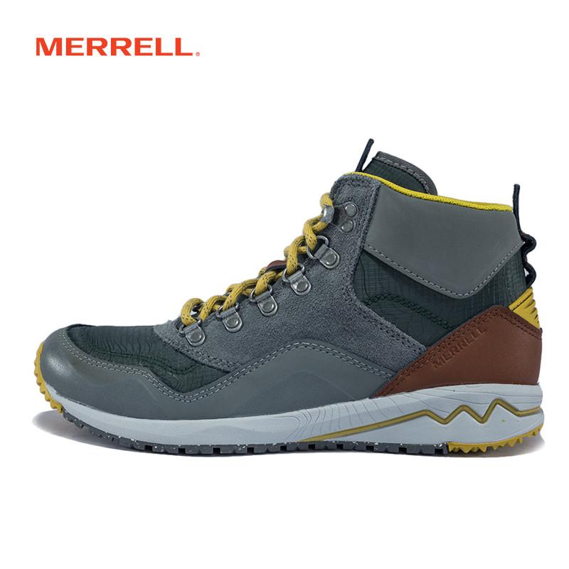 MERRELL迈乐 女鞋都市户外鞋高帮旅游鞋耐磨缓冲透气休闲鞋J01928