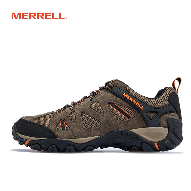 MERRELL迈乐男鞋 户外鞋轻装徒步透气耐磨防滑缓震J343718C