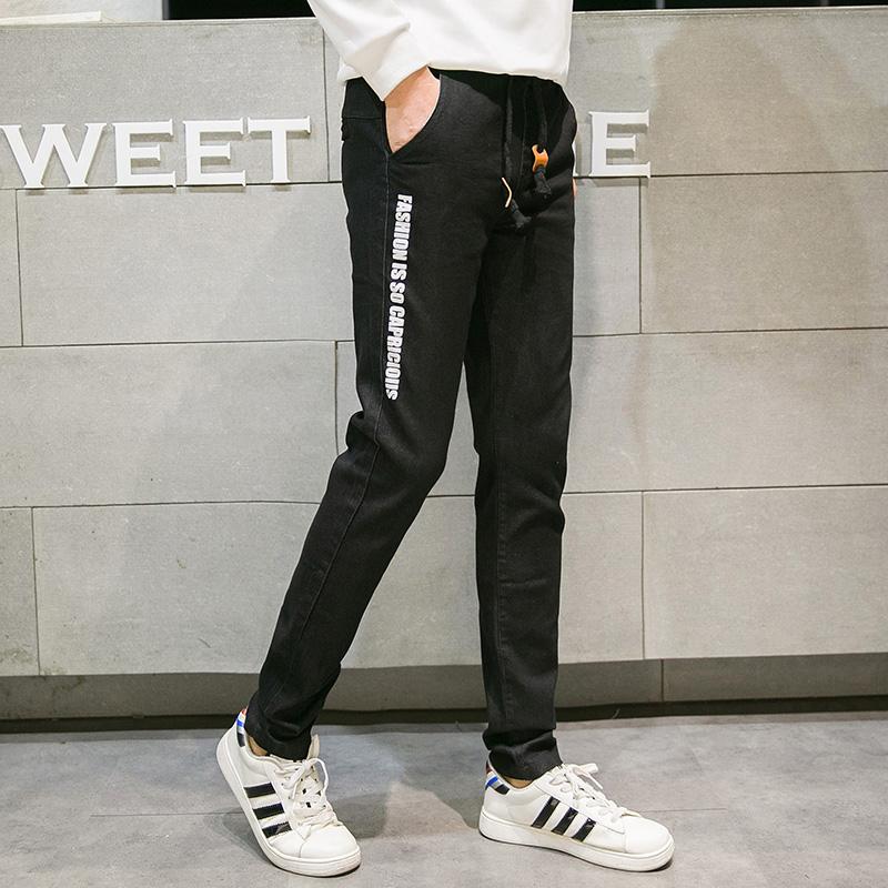大童冬装牛仔裤