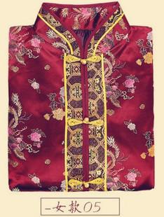 寿被女全套纯棉褥子铺金盖银盖红年轻冲喜寿衣死人殡葬用品