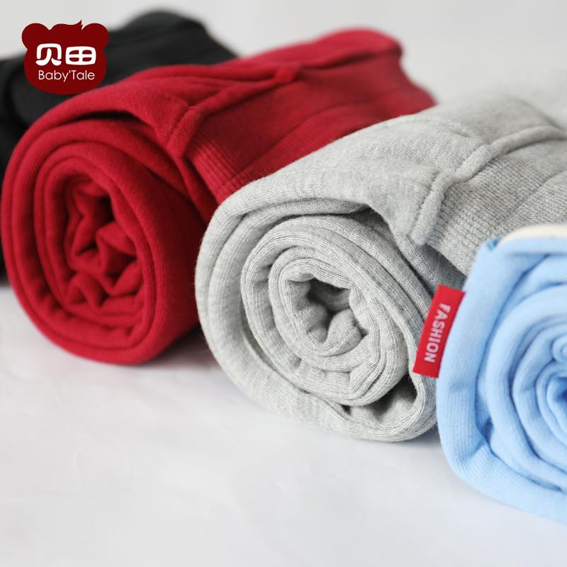 男童运动棉裤冬加厚