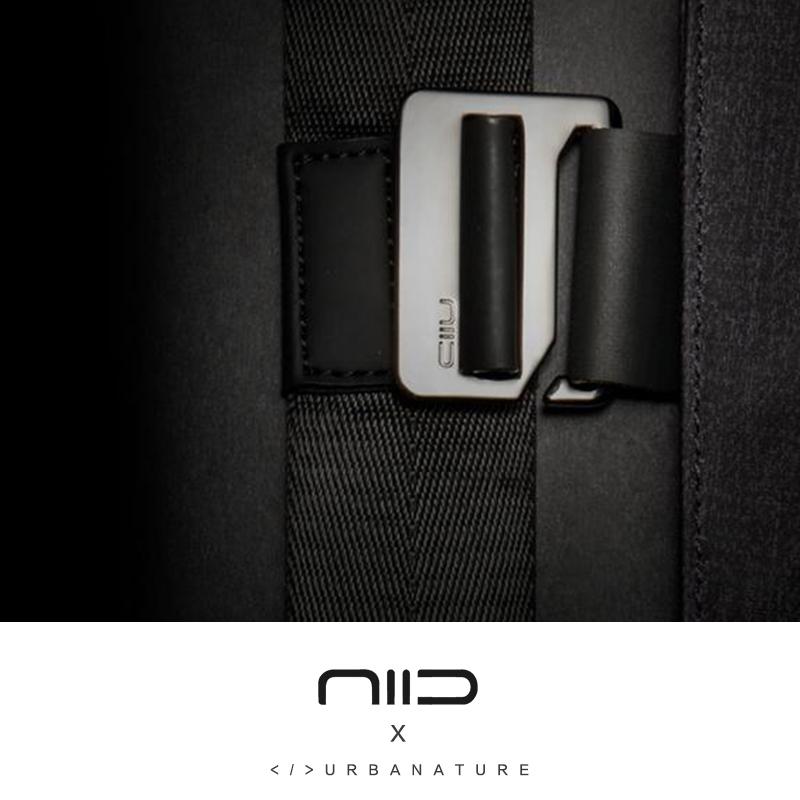 新款美国NIID X URBANATURE数码收纳包 折叠笔记本防盗单肩斜挎包