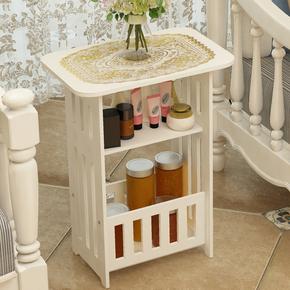 北欧式简约茶几小圆桌边几客厅小方桌子杂志桌床头柜现代创意家具