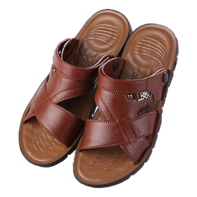 2019夏季男士透气凉鞋休闲运动户外男防滑耐磨海边沙滩两穿凉拖鞋