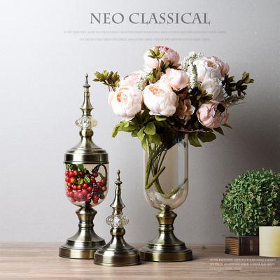 美式電視柜玄關擺件家裝飾品奢華歐式樣板房家居客廳酒柜花瓶擺設哪個好