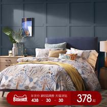 纯棉龙凤古典中国红双人六件套床品床罩2m大红八十件套婚庆四件套