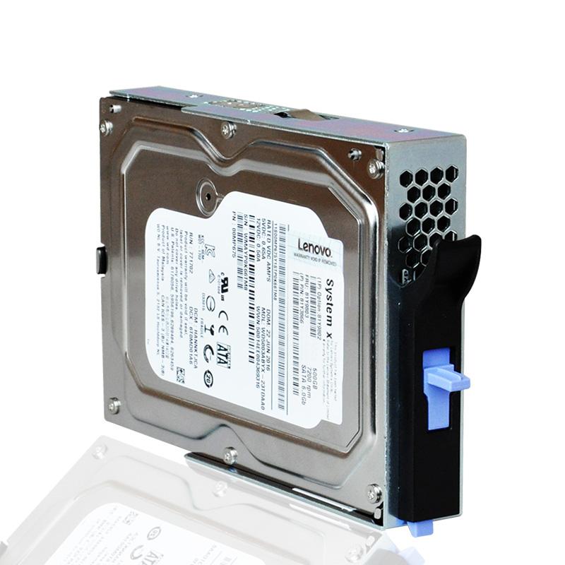 Lenovo/联想 81Y9810 2TB SATA 3.5寸易插拔服务器硬盘