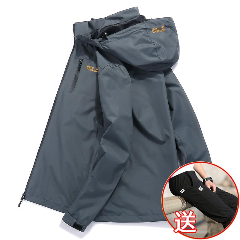 韩式冲锋衣