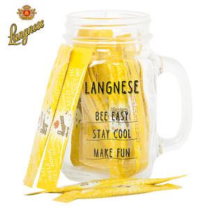 琅尼斯高于欧盟标准纯进口天然百花独立小包装便携瓶袋装条碗蜂蜜