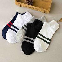袜子男士短袜棉袜夏季纯棉防臭低帮吸汗短筒运动袜潮四季隐形船袜
