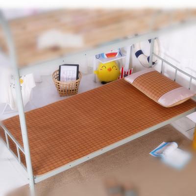 夏季凉席90cm学生单人宿舍0.9m可折叠软席子1.2藤席1.8米双人1.5